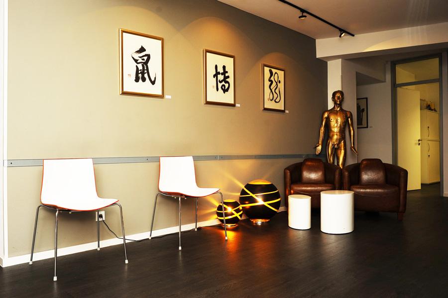 Akupunkturzentrum Frankfurt Wartebereich